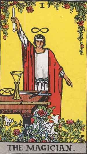 タロット・魔術師|カードの意味と解説