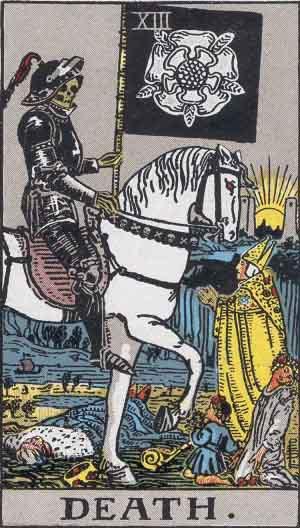 タロット・死神|カードの意味と解説