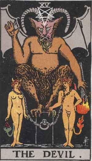 タロット・悪魔|カードの意味と解説