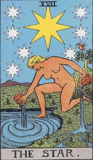 タロット・星|カードの意味と解説