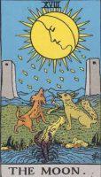 タロット・月 カードの意味と解説