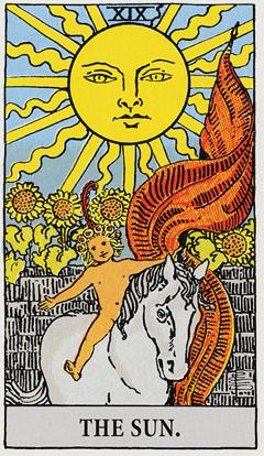 タロット・太陽|カードの意味と解説