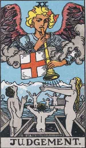 タロット・審判|カードの意味と解説