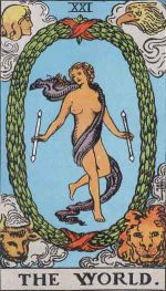 タロット・世界(ワールド)|カードの意味と解説