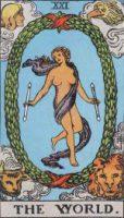 タロット・世界(ワールド) カードの意味と解説