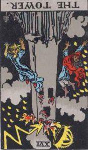 タロット・塔(タワー)|カードの意味と解説