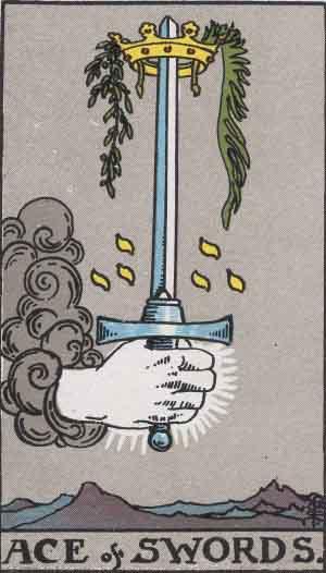 タロット・ソードエース|カードの意味と解説