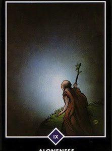 禅タロット【独りあること】カードの意味と解説