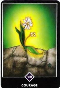 禅タロット【勇気】カードの意味と解説