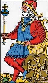 タロットワンオラクル(一枚引き)で皇帝が出たら?