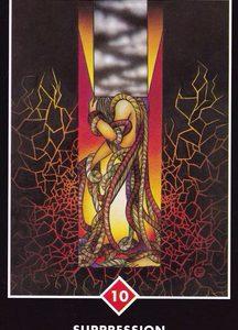 禅タロット【抑圧】カードの意味と解説
