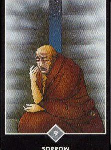 禅タロット【嘆き】カードの意味と解説