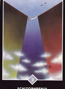 禅タロット【精神分裂症】カードの意味と解説